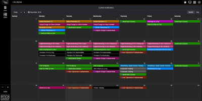 Events Scheduler
